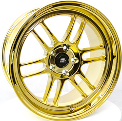 MST Wheels Suzuka - PVD Gold Rim