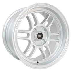 MST Wheels Suzuka - Silver - 17x9.5