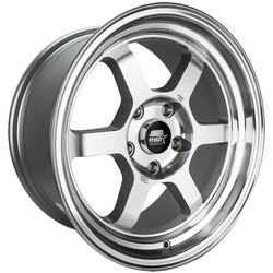 MST Wheels Time Attack - Machined - 15x8