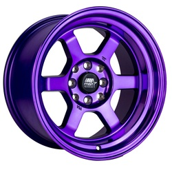 MST Wheels Time Attack - Cosmic Purple Rim