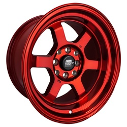 MST Wheels MST Wheels Time Attack - Ruby Red - 15x8