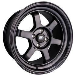 MST Wheels Time Attack - Smoked Black Rim