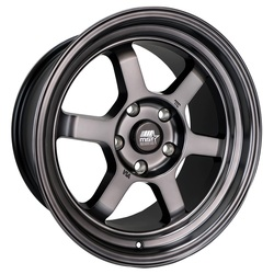 MST Wheels Time Attack - Smoked Black