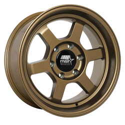 MST Wheels Time Attack Truck - Matte Bronze Rim