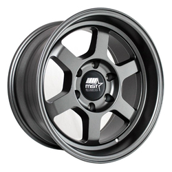 MST Wheels Time Attack Truck - Matte Gunmetal Rim