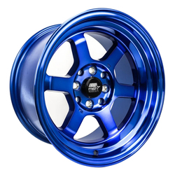 MST Wheels Time Attack - Sonic Blue Rim