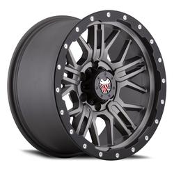 Mamba Wheels M25 - Matte Grey/Black Lip