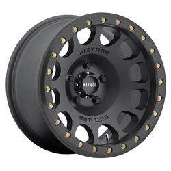 Method Wheels 105 Beadlock - Matte Black Rim