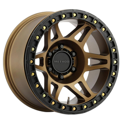 Method Wheels 106 Beadlock - Bronze Rim