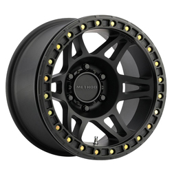 Method Wheels 106 Beadlock - Matte Black Rim
