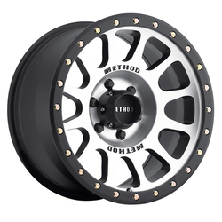 Method Wheels 305 NV - Matte Black Machined Face