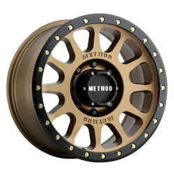 Method Wheels 305 NV HD - Bronze Rim - 18x9