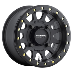 Method Wheels 401 UTV Beadlock Series - Matte Black Rim - 14x7