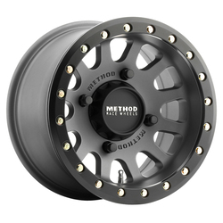 Method Wheels 401 UTV Beadlock Series - Titanium Rim - 14x8