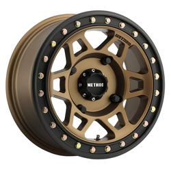 Method Wheels 405 UTV Beadlock - Bronze Rim - 14x7