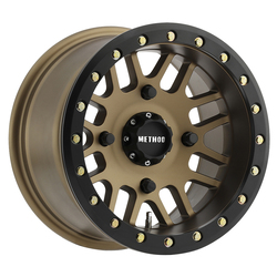 Method Wheels 406 UTV Beadlock - Bronze Rim