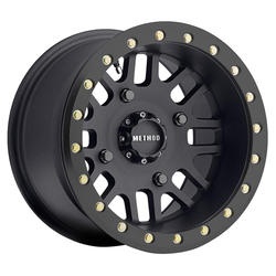 Method Wheels 406 UTV Beadlock - Matte Black Rim - 14x8