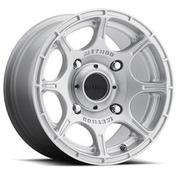 Method Wheels 408 Roost UTV - Silver - 15x7