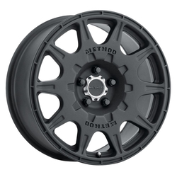 Method Wheels 502 Rally - Matte Black Rim