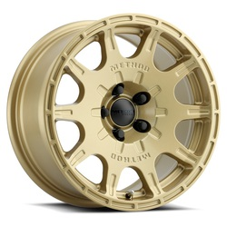 Method Wheels 502 VT Spec - Gold Rim