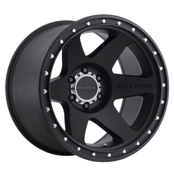 Method Wheels 610 Con 6 - Matte Black Rim