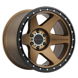 Method Wheels 610 Con 6 - Bronze Rim - 20x10