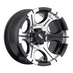 Dick Cepek Wheels DC-2 - Black Machined Face Rim