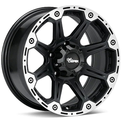 Dick Cepek Wheels Torque - Flat Black / Machined Rim