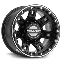 Mickey Thompson Wheels Mickey Thompson Wheels Sidebiter Lock - Satin Black / Machined - 15x8