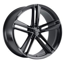 Ohm Wheels Lightning - Gloss Black RF Rim - 22x11
