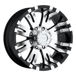 Pro Comp Wheel Series 01 Raven - Gloss Black / Machined
