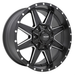 Pro Comp Wheel Series 48 Quick 8 - Satin Black / Milled Rim