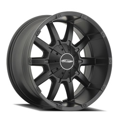 Pro Comp Wheel Series 50 10 Gauge - Satin Black