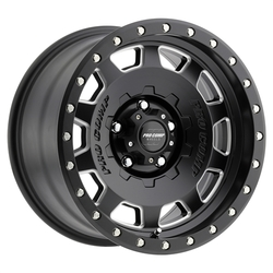 Pro Comp Wheel Series 60 Hammer - Satin Black / Milled