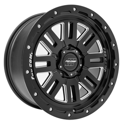 Pro Comp Wheel Series 61 Cognos - Satin Black / Milled Rim
