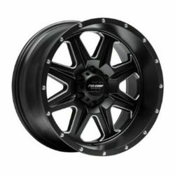 Pro Comp Wheel Series 63 Recon - Satin Black / Milled Rim