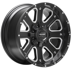 Pro Comp Wheel Series 72 Axis - Satin Black / Milled