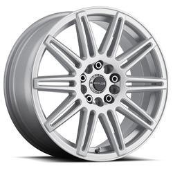 Raceline Wheels 143S Cobalt - Gloss Silver