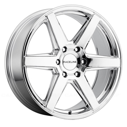 Raceline Wheels 156C Surge - Chrome Rim - 22x9.5