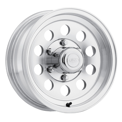 Raceline Wheels 881 Mod Trailer - Machined - 15x6