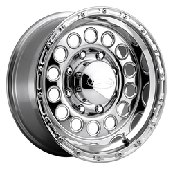 Raceline Wheels 887 Rockcrusher - Polished Rim - 16x10