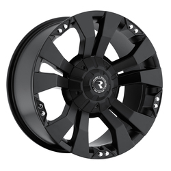 Raceline Wheels 901 Rampage-Black - Satin Black Rim