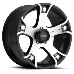Raceline Wheels 926M Gunner-Machined - Black with Machined Face Rim