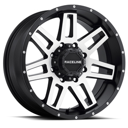 Raceline Wheels 931M Injector - Machined - 16x8