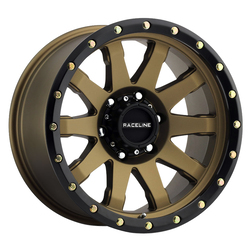 Raceline Wheels 934BZ Clutch - Bronze Rim - 17x8.5