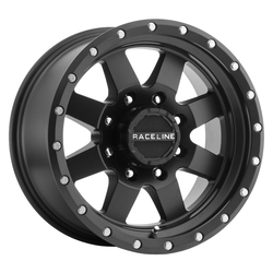 Raceline Wheels 935B Defender Trailer - Black Rim - 15x5