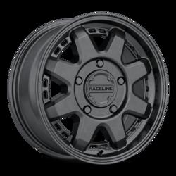 Raceline Wheels 947B Scout Van-Satin Black Rim