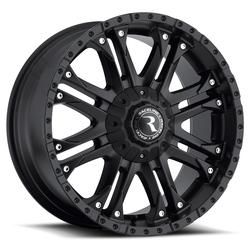 Raceline Wheels 995B Octane-Black - Satin Black Rim