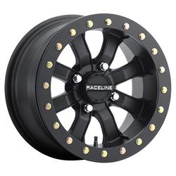 Raceline Wheels Raceline Wheels A71B Mamba Beadlock - Black - 14x8