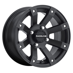 Raceline Wheels A79 Scorpion ATV/UTV - Black - 14x7